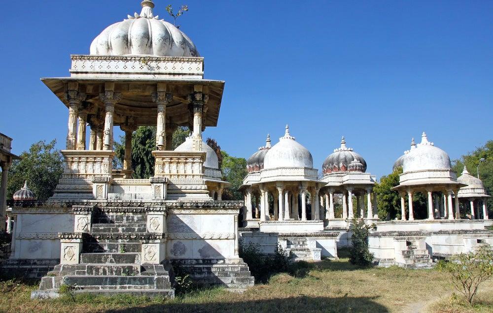 Cenotafios de Ahar en Udaipur