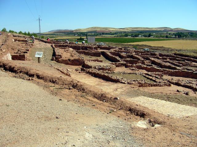 Poblado de Cerro Cabezas en Valdepeñas