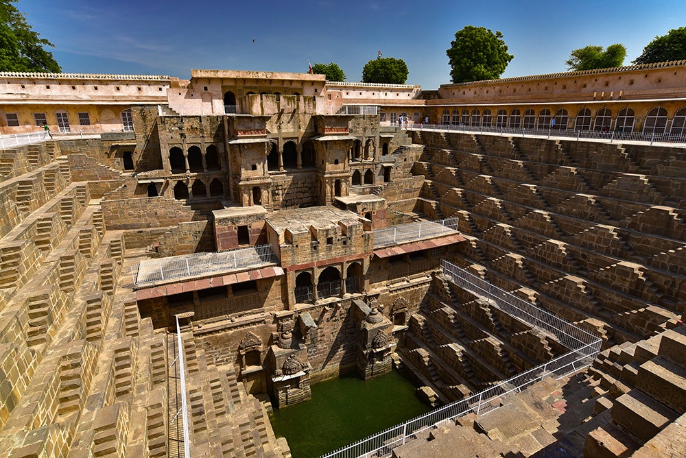 Escalera de Chand Baori