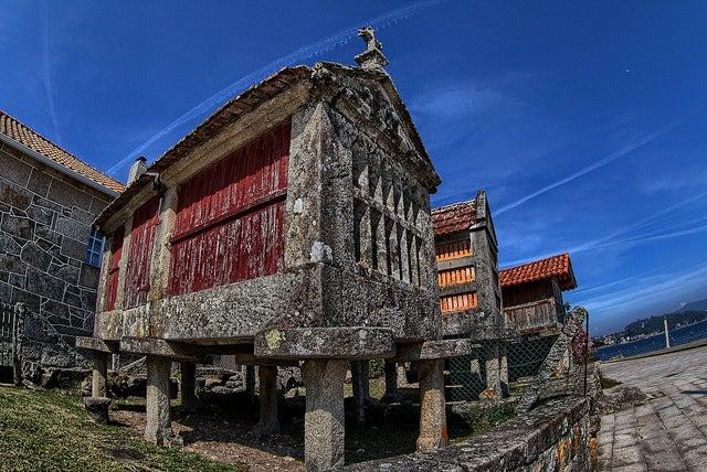 Mapa de Galicia: Combarro
