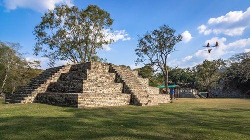 Ruinas de Copán en Honduras, Centroamérica