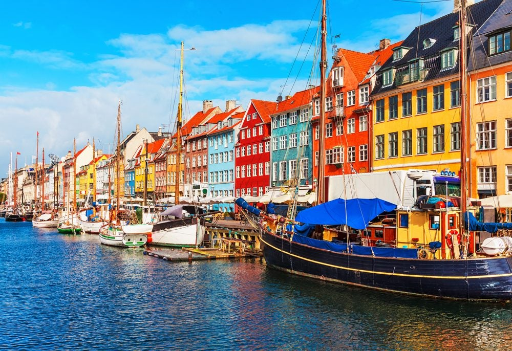 Copenhague, capital de de Dinamarca