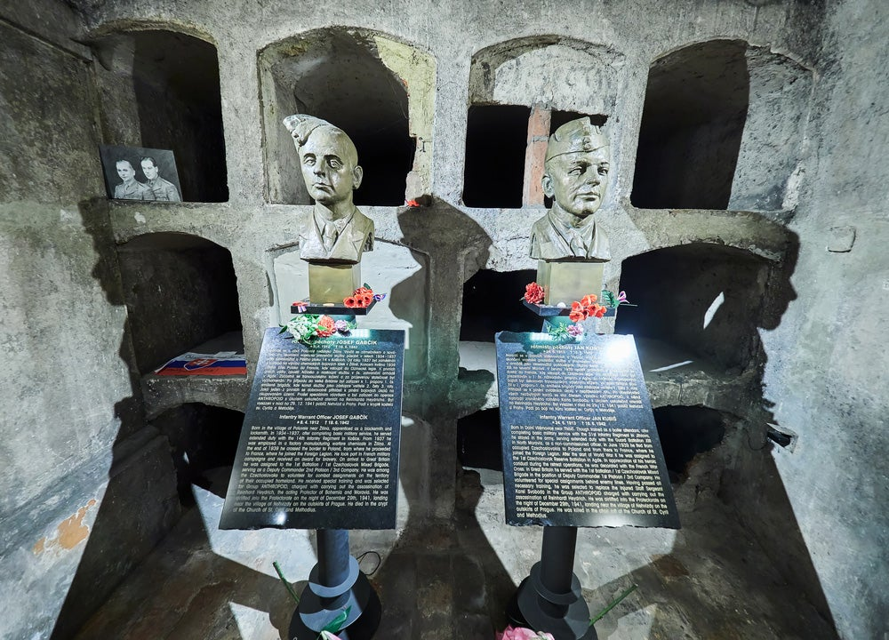 Cripta de San Cirilo y San Metodio en Praga