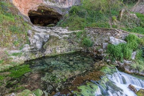 Cueva en Orbaneja del Castillo