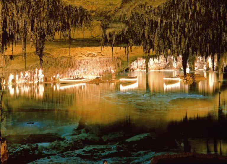 Recorremos las cuevas del Drach en Mallorca