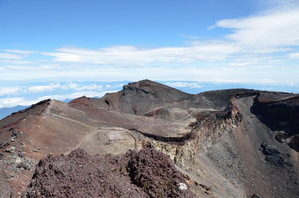 Cumbre del monte Fuji