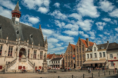 Damme, uno de los lugares que ver en Bélgica