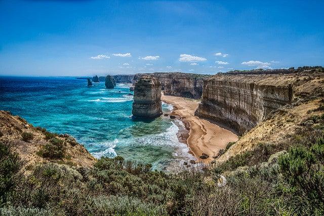 Doce apóstoles, uno de los paisajes más espectaculares de Australia