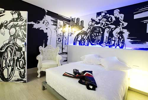 DormirDcine, unod e los hoteles diferentes en España