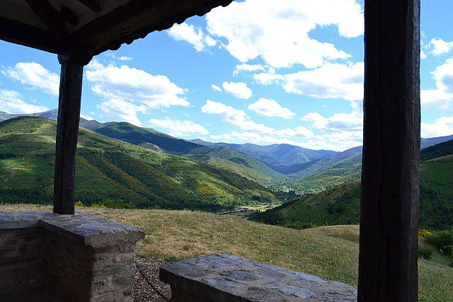 Vista desde la ermita de Santa Bárbara de Ezcaray