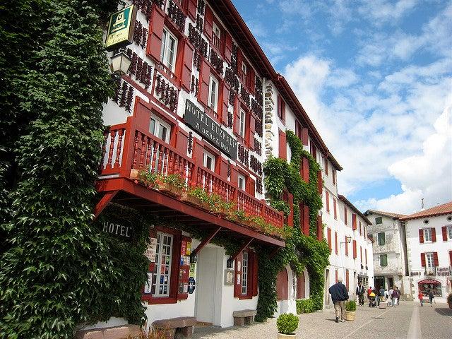 Espelette en el País Vasco francés