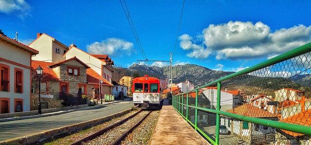 Tren en Cercedilla