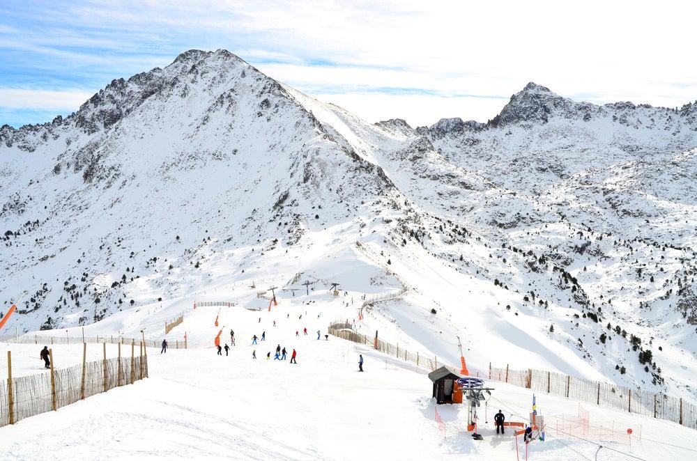 Estación de Grandvalira en Andorra
