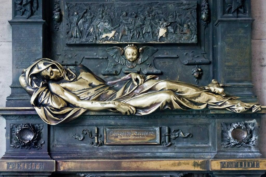 Estatua de Everard't Serclaes en Bruselas