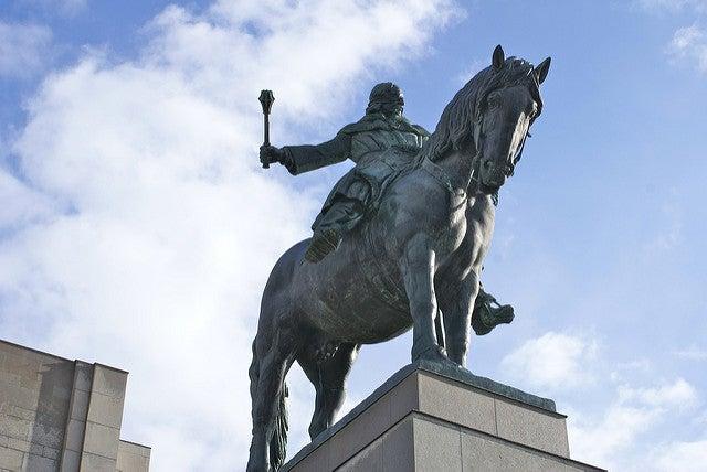 Estatua de Jan Zizka en Praga