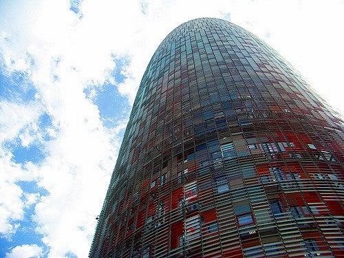 Fachada de la Torre Agbar