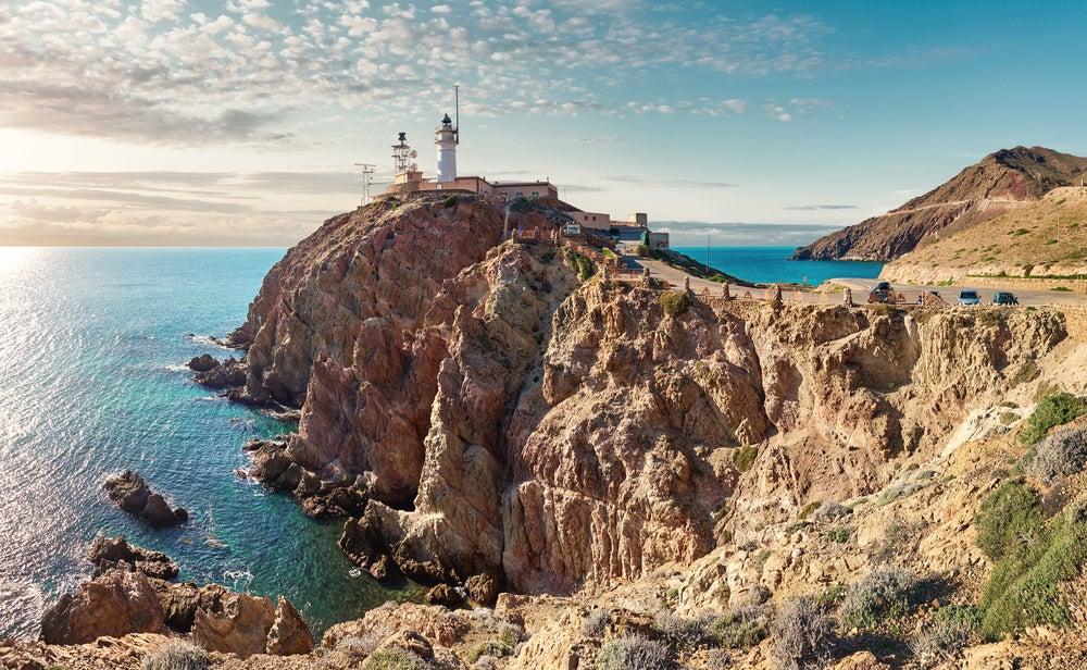 Faros españoles: cabo de Gata