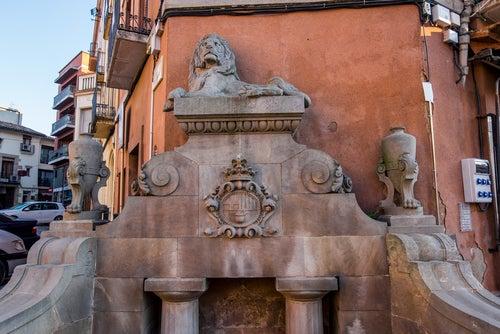 Fuente del León de Caldes de Montbui