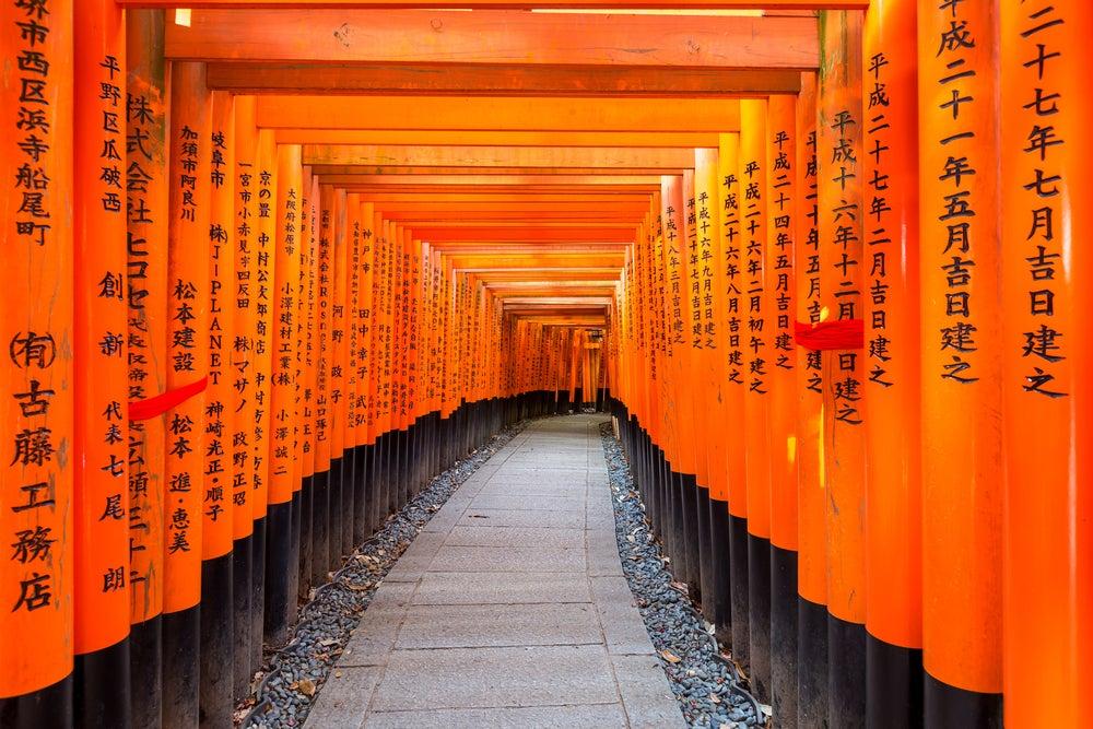 Fushimi Inari, uno de los rincones de Japón más bonitos