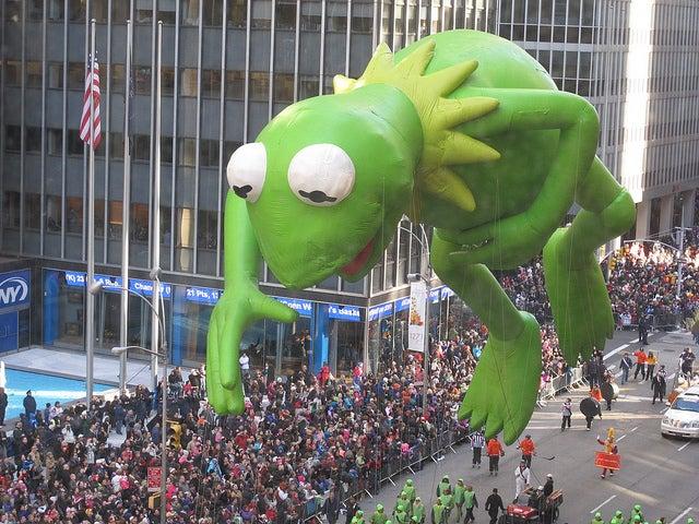 Globo en el desfile de Macy's