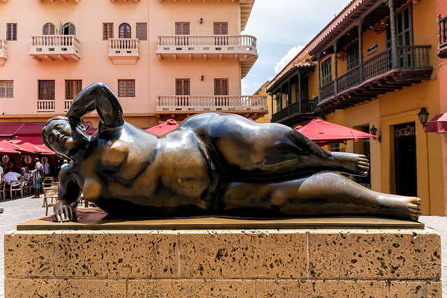 Gorda Gertrudis en Cartagena de Indias