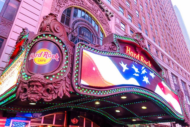 Hard Rock en Times Square