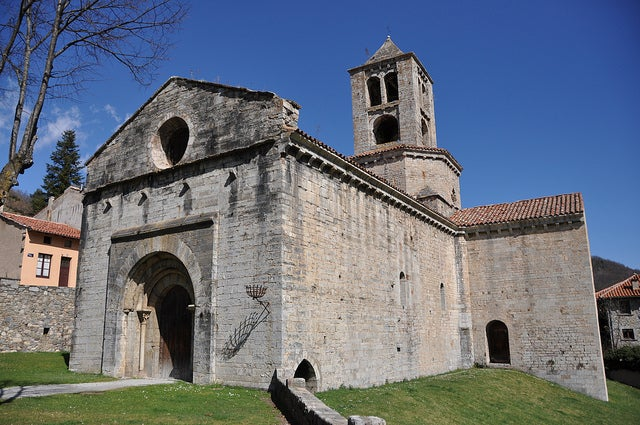 IGlesia de Sant Pere de Camprodón