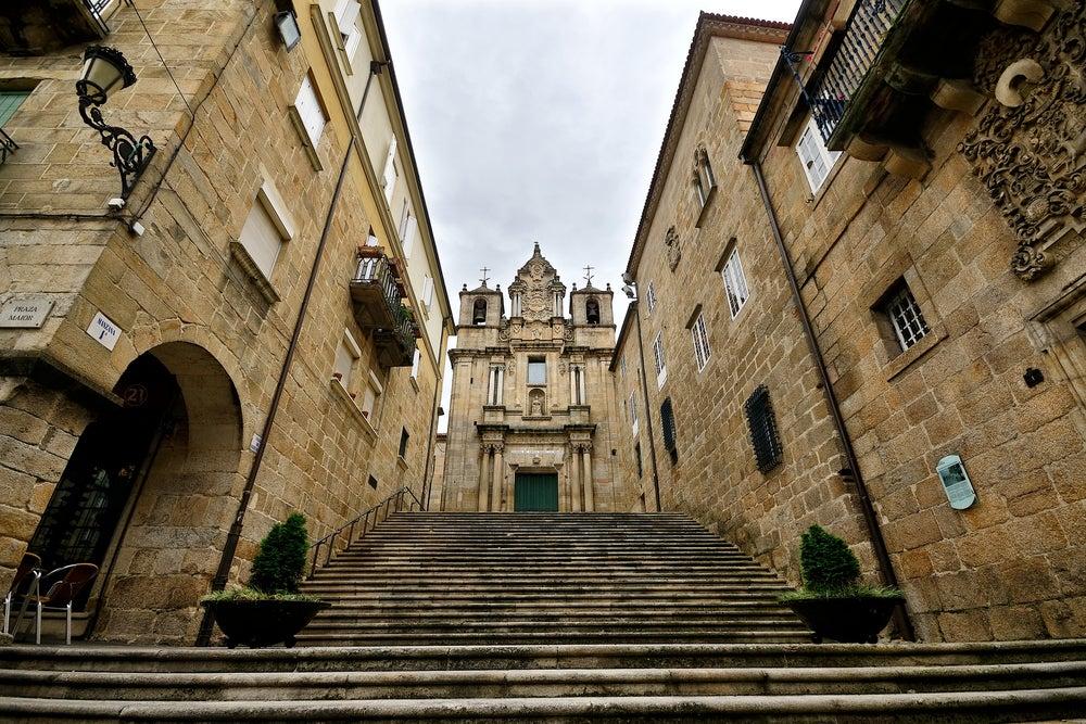 Iglesia de Santa María Nai en Ourense