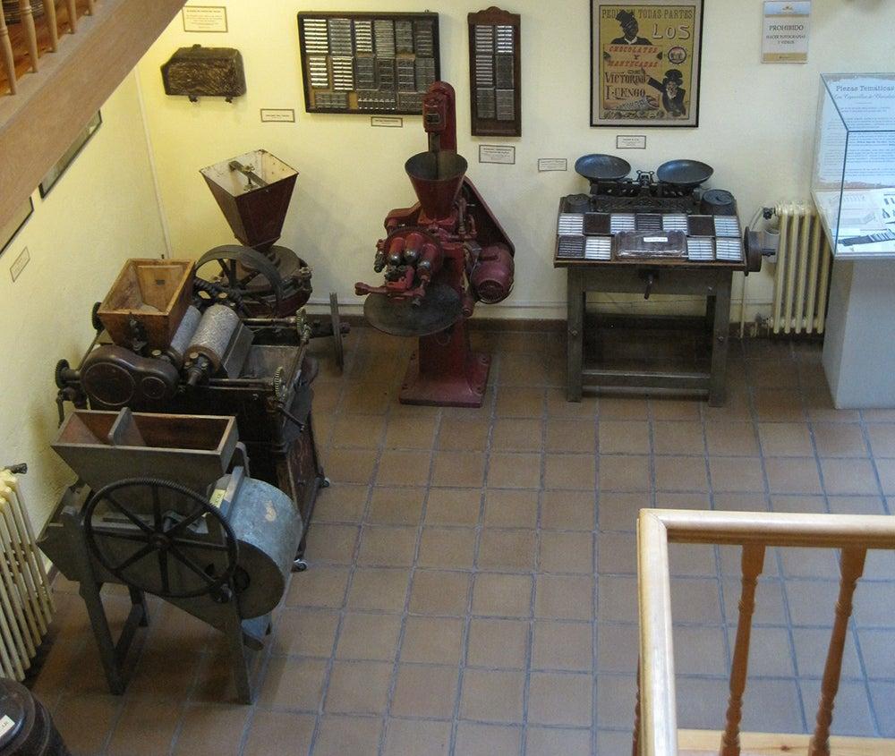 Interior del Museo del Chcolate de Astorga