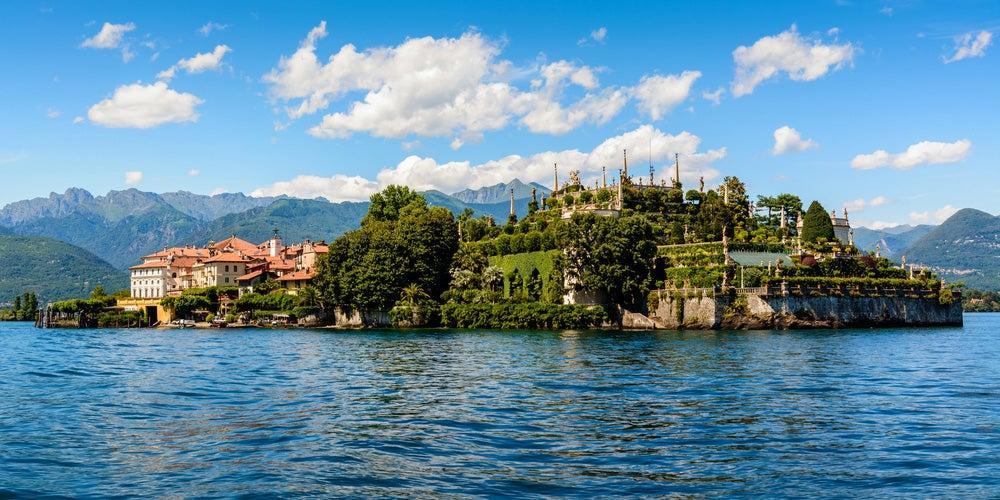Isola Bella en el lago Maggiore