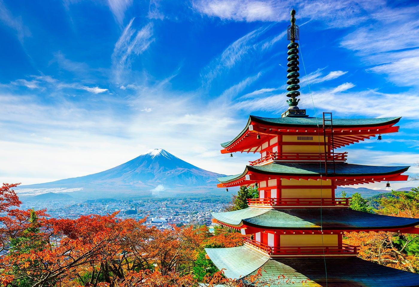 8 maravillosos rincones de Japón que debes visitar
