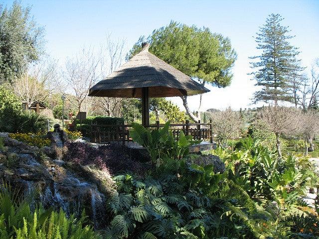JArdín Molino de Inca en Torremolinos