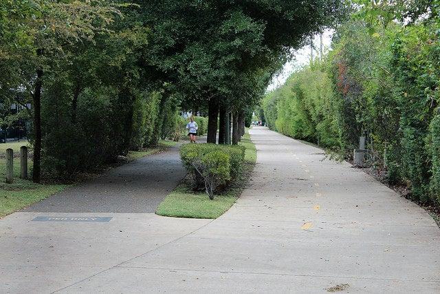 Katy trail en Dallas