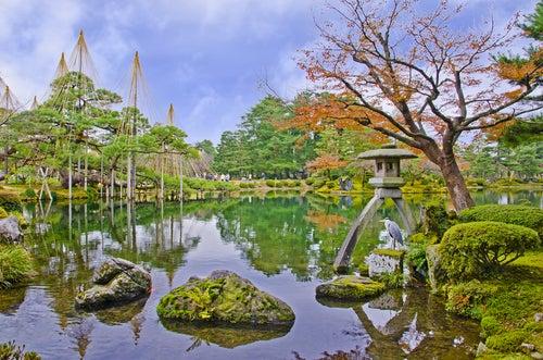 Kenrokuen en Japón