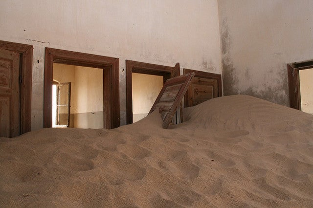 Kolmanskop un pueblo abandonado en Namibia