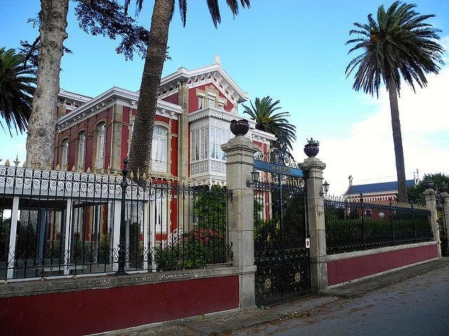 Villa La Argentina en Luarca