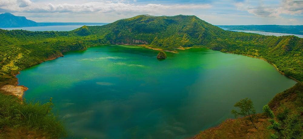 Isla del lago Taaal, una de las islas en medio de lagos más curiosas
