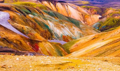 Landmannalaugar en Islandia, uno de los caprichos de la naturaleza