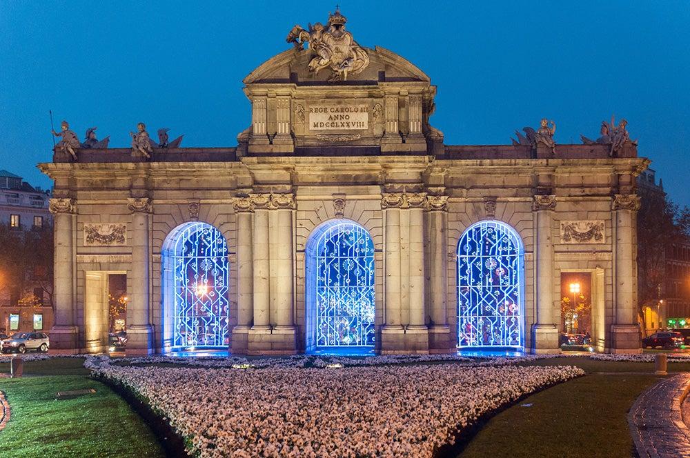Navidad en Madrid, un gran espectáculo luminoso