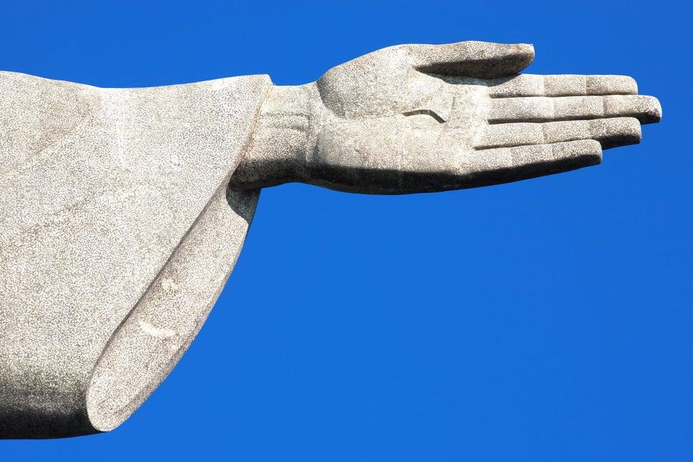 Mano del Cristo Redentor