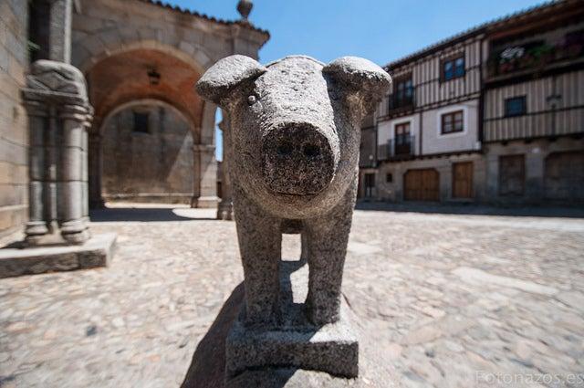 MArrano de San Antón en La Alberca