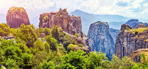 Meteora, uno de los paisajes europeos más bellos