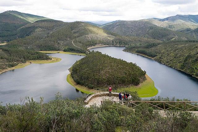 Mirador de La Antigua en el Meandro de Melero