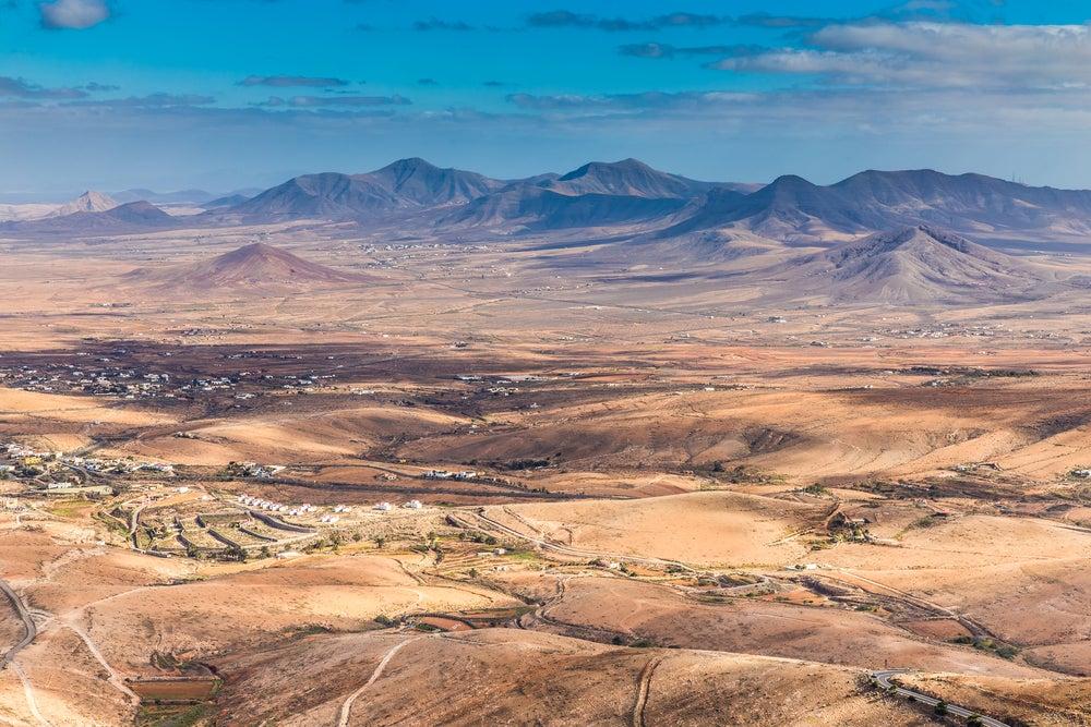 Mirador Morro Velosa en Fuerteventura