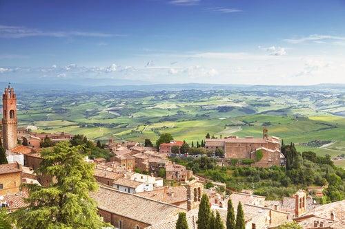 Montalcino, uno de los pueblos imprescindibles de la Toscana