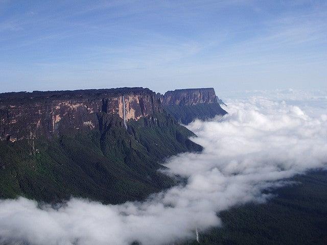 Monte Roraima en Venezuela