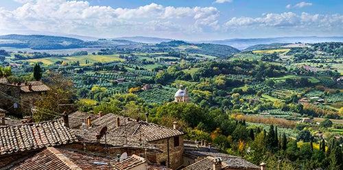 Montepulciano, un bonito pueblo de la Toscana italiana