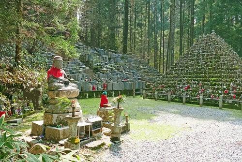 Monte Koya en Japón