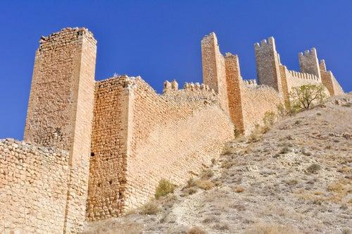 Muralla de la ciudad medieval de Albarracín