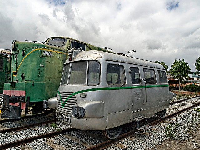 Museo del Ferrocarril en Vilanova i la Geltrú